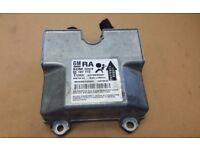 Vauxhall Astra GM RA SDM unit airbag module 93197172 TEMIC 327963935 RHV9G13AOH