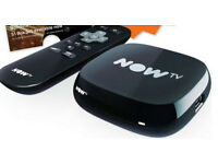 NowTV box with remote controller, brand new, no pass