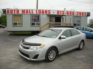 2012 Toyota Camry LE **PAY ONLY $59 WEEKLY OAC**