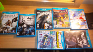 Wii u great games with half price($15 each)