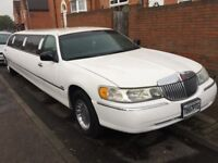 Lincoln Town Car Limousine Extra LWB 9 Seater Fully Re-Spray Alloys Leather Seats Reupholstered