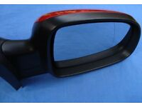 CORSA C DOOR MIRROR offside driver's side manual EXCELLENT red vauxhall