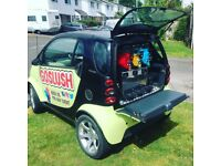GoSlush is a quirky way of providing you slush drinks at any event