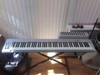 M-AUDIO KEYSTATION 88ES MIDI KEYBOARD