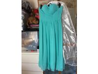 Teale bridesmaid dress