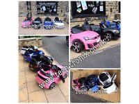 Volkswagon Golf Ride-On Available in White, Black, Pink, Met Blue, Red