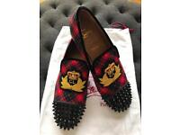 Christian Louboutin suede multicolor Size 42 (fairly use)
