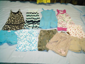 Girls Summer clothes size 7 yrs