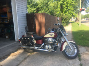 1998 Honda Shadow loaded