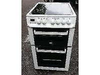 ZANUSSI FREE STANDING 50cm ELECTRIC COOKER free man and van delivery