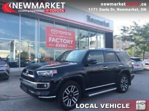 2016 Toyota 4Runner Limited 7-Passenger  - one owner - trade-in