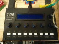 Audiothingies P6 synthesizer