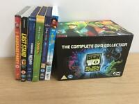 DVD Ben10 complete, Disney Films & New Sausage Party