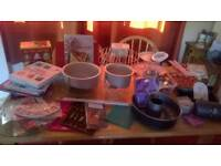 Baking and cake decorating items