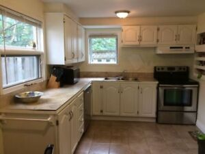 BEAUTIFUL ...RENOVATED  Furnished LARGE 3 plus den DOWNTOWN!!!