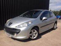 2007 (56) Peugeot 207 1.4 16v Sport 3dr Low Mileage 12 Months MOT Cheap To Run & Insure May PX