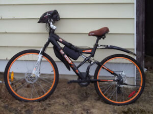 New MTB to trade for all a gasoline whipper snipper.