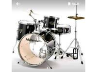 5 Piece drumset