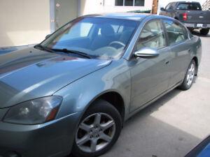 2005 Nissan Altima Exta Sedan