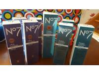 no7 make up lift and iluminate 430ml tube plus 4 protfect a d protect