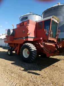 1982 1460 combine in decent shape also have 24 ft 810 straight c