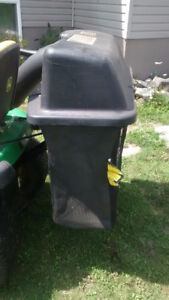 John Deere 48 inch rear bagger