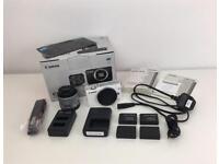 Canon EOS M10 18.0MP Digital Camera - White (Kit w/ EF-M 15-45mm Lens)