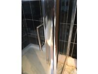 Next to New Luxury 8mm Shower Enclosure with Stylish Sliding Door - 1200 x 900