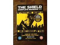 The Shield Complete DVD box set seasons 1 - 7 £15