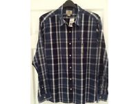 Men's Timberland Check Shirt Size L. Brand New With Tags.