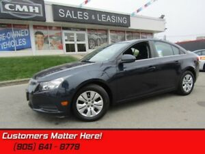 2014 Chevrolet Cruze 1LT  REAR CAMERA, BLUETOOTH, STEERING WHEEL