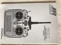 jR Dsx12 mode 2 radio control transmitter