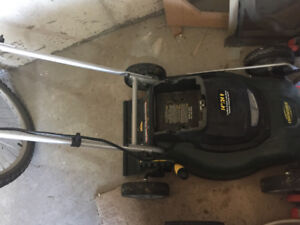 Powerful 24V electric lawnmower