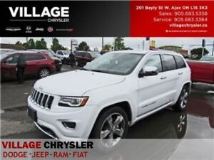 2016 Jeep Grand Cherokee Overland LOW kms Nav Panroof Tow Remote