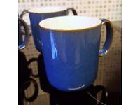 2 x Denby Mugs [Royal Blue]