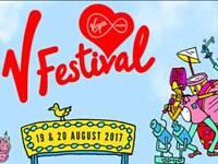 V festival weekend camping ticket weston park