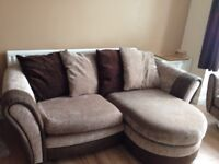 DFS 3 seater plus cuddle chair