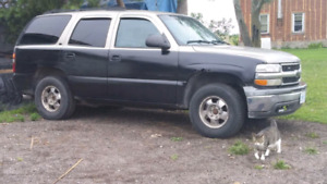 2000 tahoe 4x4 open to trades