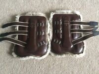 Gygax brown leather star boots size 3