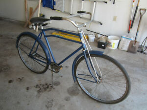 ANTIQUE CCM BICYCLE LATE 1930'S RAMBLER