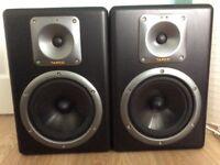Tapco S8 Active Studio Monitor speakers