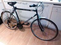 Saxon Savanna Hybrid bike, cheap pub or work commuter bike