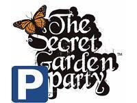 Secret garden party car park pass required