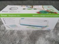 NEW IN BOX CRICUT EXPLORE AIR craft/sewing/art