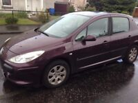 2006 Peugot 307 1.4i for spares or repairs