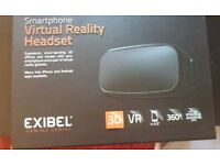 Virtual Reality VR headset for smartphone, never used