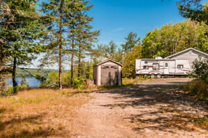 Beautiful Waterfront Cottage or Home on 3+ Acres