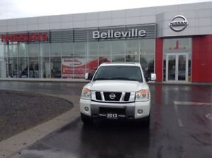 2013 Nissan Titan SL 4WD TOP OF THE LINE TRUCK