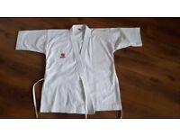 155cm Childs Heavy Weight Traditional Japanese Cut Competition Gi.