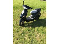 50cc scooter 1yr mot only 433 miles